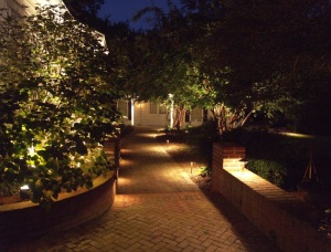 Good Walkway Lighting Example